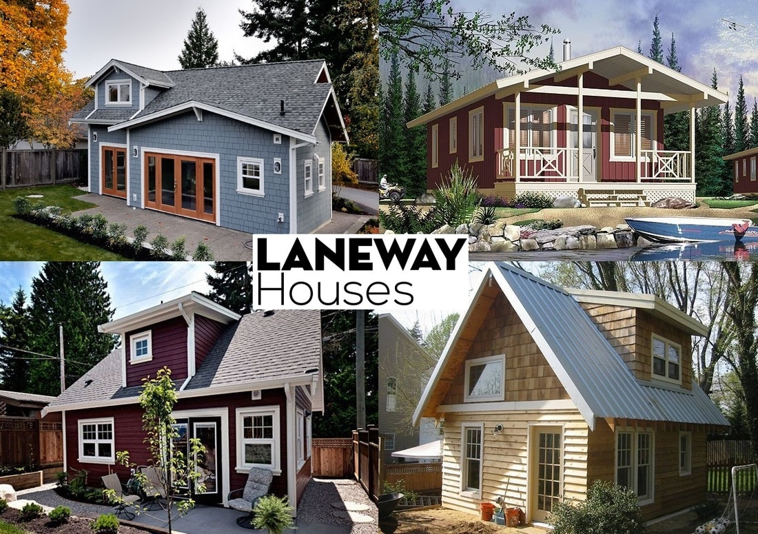 Increase your property value by building a laneway house for Homes to build on acreage